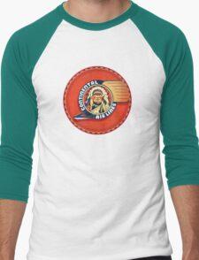 Vintage Continental Airlines USA Men's Baseball ¾ T-Shirt