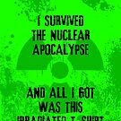 I survived the Nuclear Apocalypse by GrimDork