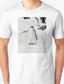 """Chinstrap Penguin  ~  """"Traffic Cop on Point Duty"""" Unisex T-Shirt"""