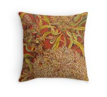 Old Man Banksia Throw Pillow