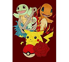 Pokemon- Pokemon T-shirts Photographic Print