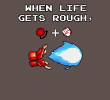 When Life gets rough, Hadouken. Unisex T-Shirt