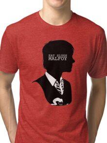 """Eat slugs Malfoy!"" Tri-blend T-Shirt"