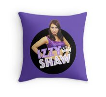 Izzy Shaw Wrestler with crown Throw Pillow
