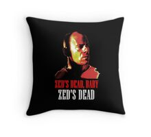 Zed is Dead - for dark shirts Throw Pillow