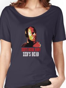 Zed is Dead - for dark shirts Women's Relaxed Fit T-Shirt