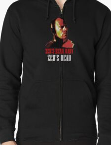 Zed is Dead - for dark shirts Zipped Hoodie