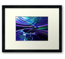 Blue Hole Framed Print