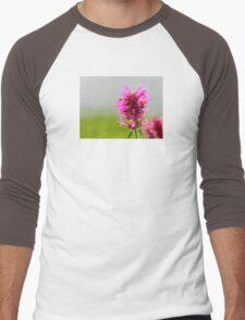 Pink Macro Men's Baseball ¾ T-Shirt
