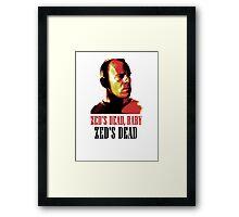 Zed Is Dead Framed Print