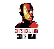 Zed Is Dead Photographic Print