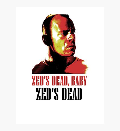 Zed Is Dead Photographic Print
