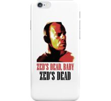 Zed Is Dead iPhone Case/Skin
