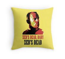 Zed Is Dead Throw Pillow
