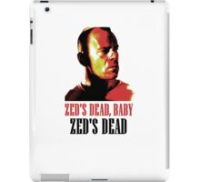 Zed Is Dead iPad Case/Skin