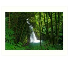 Salto do Prego waterfall Art Print