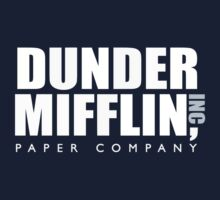 Dunder Mifflin One Piece - Short Sleeve