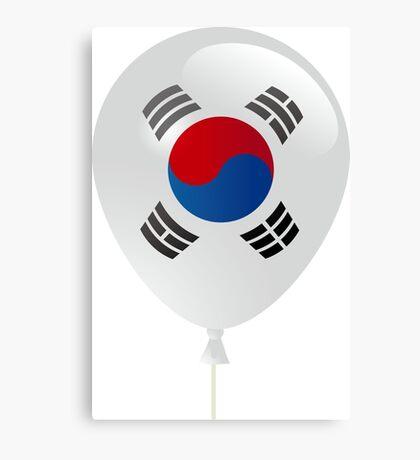 Korean flag Canvas Print