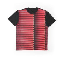 3 Red Pipes Graphic T-Shirt