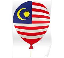 Malaysia Flag Poster