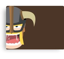 Clash of Clans Barbarian  Canvas Print