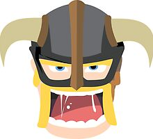 Clash of Clans Barbarian  by tstewart3