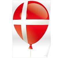 Danish flag Poster