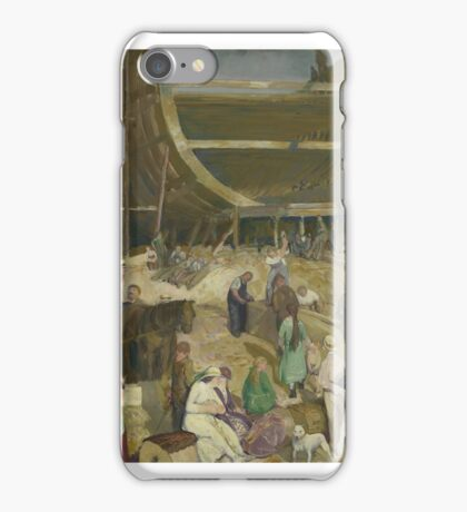 GEORGE WESLEY BELLOWS, SHIPYARD SOCIETY.  iPhone Case/Skin