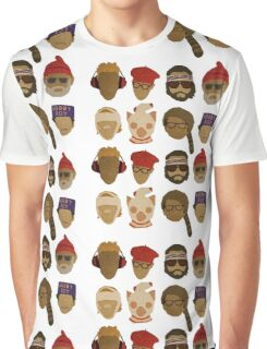Wes Anderson's Hats Graphic T-Shirt
