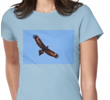 Wedge-tailed Eagle ~ Soar High Fly Free Womens Fitted T-Shirt
