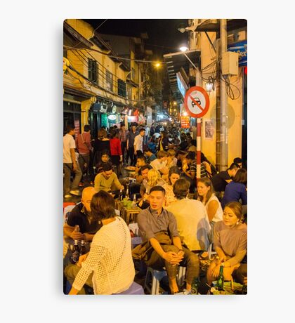 Hanoi Old Quarter Canvas Print