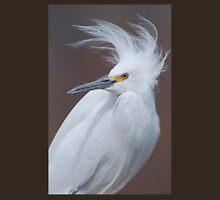 Snowy Egret in Breeding Plumage Unisex T-Shirt