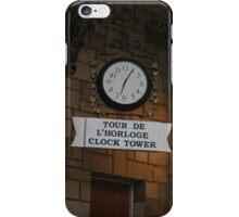 Clasical Clock iPhone Case/Skin