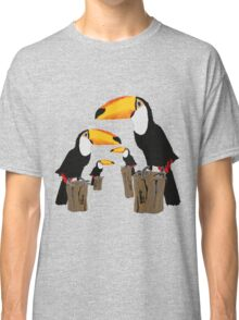 Flock of 4 by Anne Winkler Classic T-Shirt