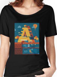 A (secret) building  Women's Relaxed Fit T-Shirt