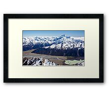 Lake Tasman Framed Print