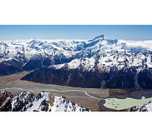 Lake Tasman Photographic Print