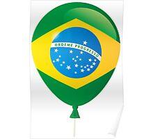 Brazilian flag Poster