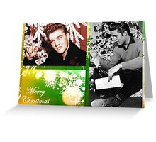 Merry Christmas Elvis Greeting Card