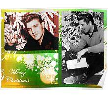 Merry Christmas Elvis Poster