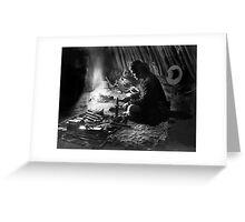 Navajo Silversmith - William J. Carpenter 1915 Greeting Card