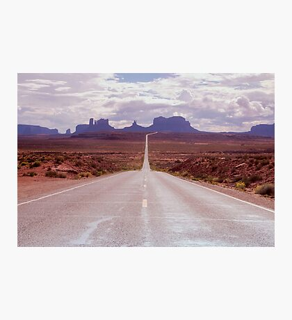 US Highway 163 Photographic Print