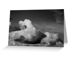 Cumulonimbus Greeting Card
