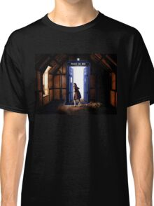 The Lion, The Witch, and The TARDIS Classic T-Shirt