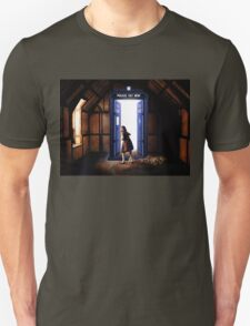 The Lion, The Witch, and The TARDIS Unisex T-Shirt