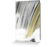 Abstract Flow  Greeting Card