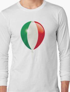 Flag of Italy Long Sleeve T-Shirt