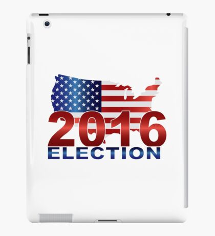 The United States presidential election 2016 iPad Case/Skin