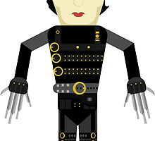 Edward Scissorhands vector by TIERRAdesigner