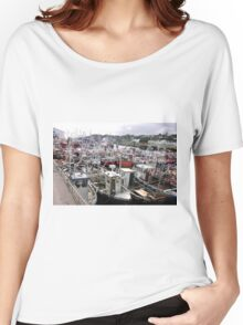 Traffic Jam - Greencastle Co. Donegal Ireland Women's Relaxed Fit T-Shirt
